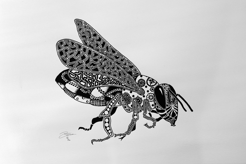 Screenprint - Bee